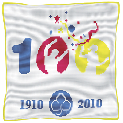 Girl Guides - Cross Stitch (printed canvas)