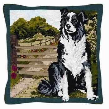 Beth - Border Collie Tapestry Kit