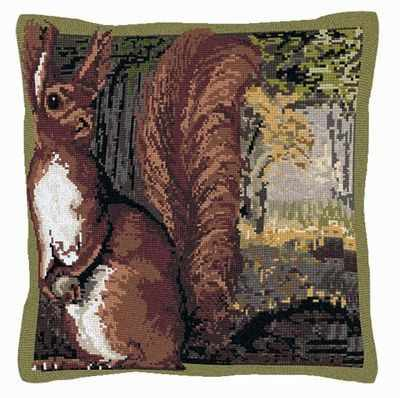 Red Squirrel Tapestry Kit - Brigantia