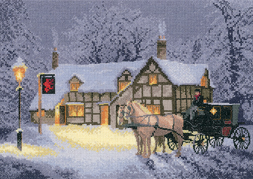 Christmas Inn - John Clayton Cross Stitch