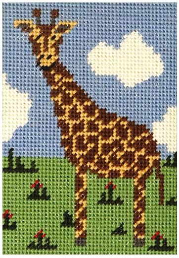 Gerry Giraffe Beginners Tapestry