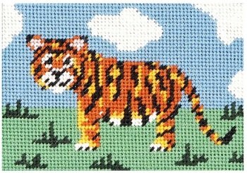 Timothy Tiger Beginners Tapestry