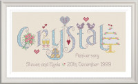 <!-- 020 -->Crystal Anniversary 15 Years - Nia Cross Stitch