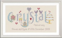 <!-- 021 -->Crystal Anniversary 15 Years - Nia Cross Stitch