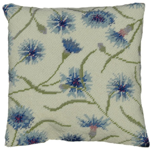 Cornflower Herb Pillow Tapestry