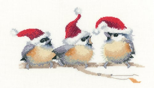 Festive Chicks - Valerie Pfeiffer - Heritage Crafts