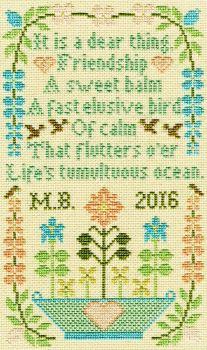 Dear Thing - Moira Blackburn Cross Stitch