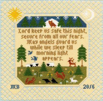 The Prayer - Moira Blackburn Cross Stitch