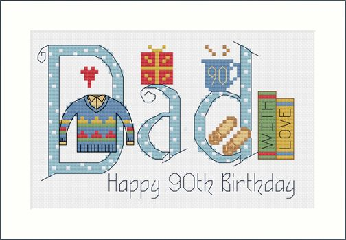 Dad Birthday Card Kit