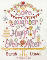 Wedding Happily Ever After - Nia Cross Stitch
