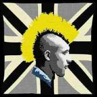 Union Jack Punk (Mono) - Urban Tapestry