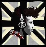 Urban Music (mono) - Union Jack Tapestry