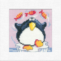 Penguin Christmas Card Kit