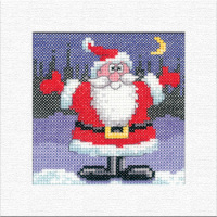 Santa Christmas Card Kit