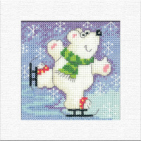 Polar Bear Christmas Card Kit