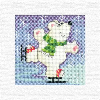 Polar Bear Christmas Card Kit