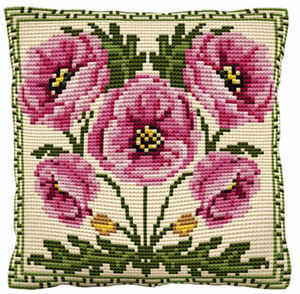Hanbury -  Cross Stitch Kit (printed canvas)