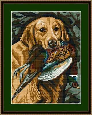 Golden Retriever Tapestry Kit - Brigantia