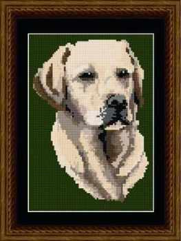 Labrador Tapestry Kit - Brigantia Needlework