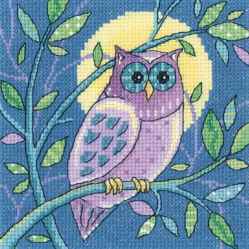 Owl Cross Stitch - Heritage Crafts