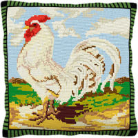 White Dorking - Cross Stitch Kit (printed canvas)