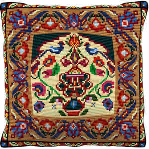 Herat - Cross Stitch (printed canvas)