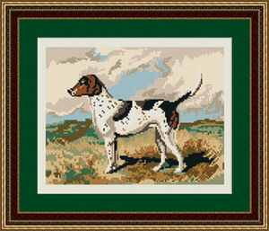 Foxhound Tapestry Kit - Brigantia Needlework