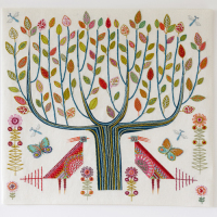 Tree Embroidery Kit - Nancy Nicholson