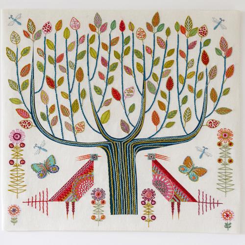 Tree Embroidery Kit - Nancy Nicholson