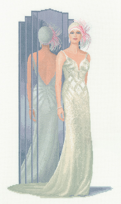 Lilly - John Clayton Elegance Cross Stitch