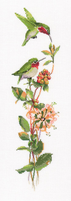toccatta in green cross stitch kit