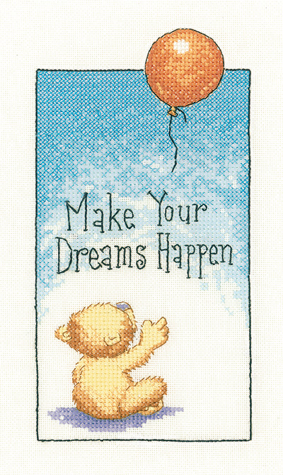 Make your Dreams Happen Cross Stitch Kit