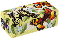 Butterflies  Doorstop Kit - Brigantia Needlework