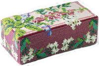 Wild Flowers  Doorstop Kit - Brigantia Needlework