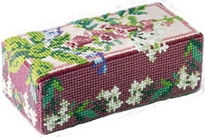Wild Flowers  Doorstop Kit - Brigantia Needlework