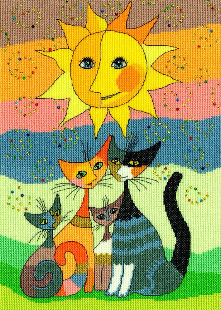 Happy Moments - Rosina Wachtmeister Cross Stitch