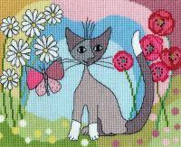 Lazy Daisy - Rosina Wachtmeister Cross Stitch
