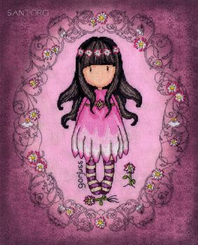 Oops A Daisy - Gorjuss Cross Stitch