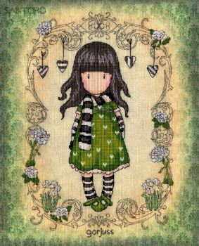 The Scarf - Gorjuss Cross Stitch