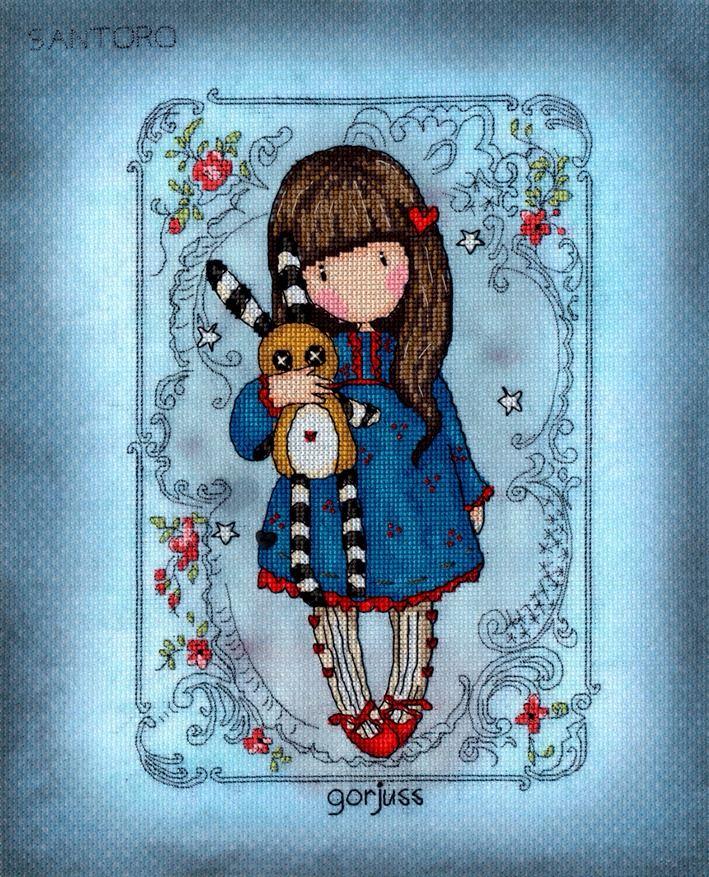 Hush Little Bunny - Gorjuss Cross Stitch