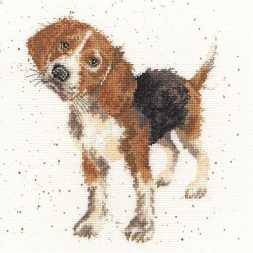 Beagle Dog Cross stitch - Hannah Dale
