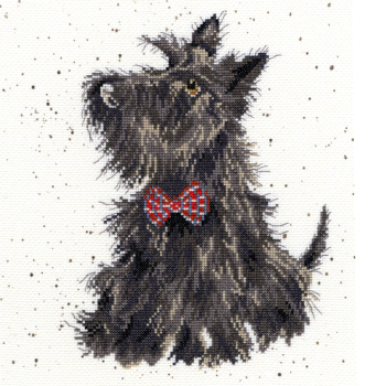 Scottie Dog Cross stitch - Hannah Dale