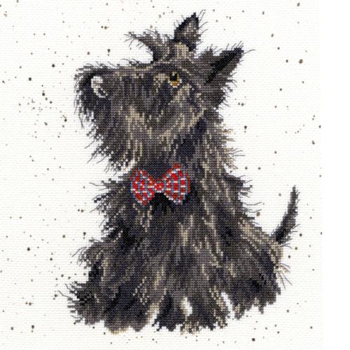 Scottie Dog Cross stitch - Hannah Dale
