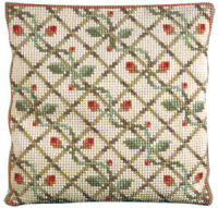 Rosetta -  Cross Stitch Kit (printed canvas)