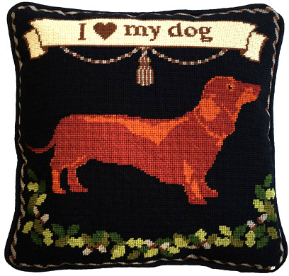 Dachshund Dog Tapestry Kit (Charted)