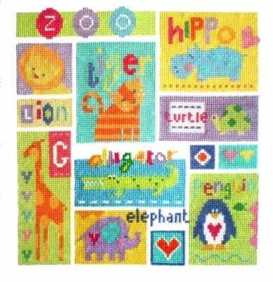 Zoo Animal Sampler - The Stitching Shed