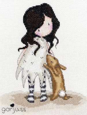 Little Rabbit - Gorjuss Cross Stitch Kit - Bothy Threads