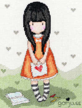 Heart - Gorjuss Cross Stitch