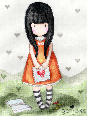Heart - Gorjuss Cross Stitch Kit - Bothy Threads