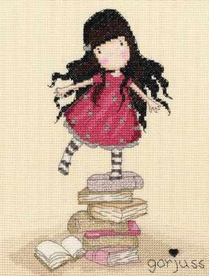 New Heights - Gorjuss Cross Stitch Kit - Bothy Threads